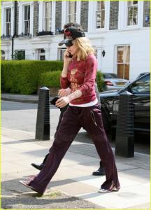 Madonna e il pilates