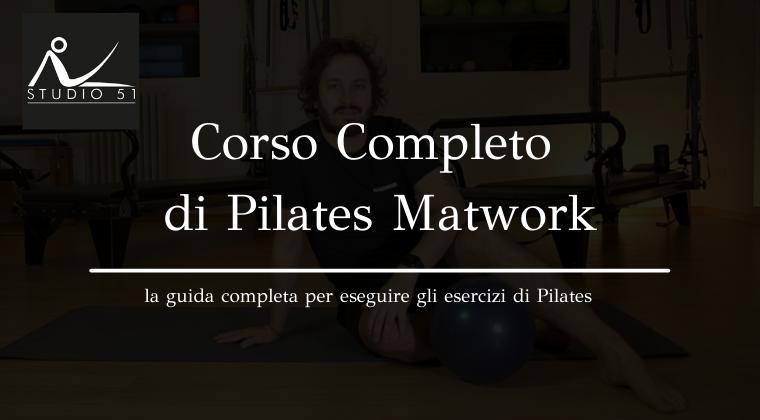 Corso Pilates Matwork Online