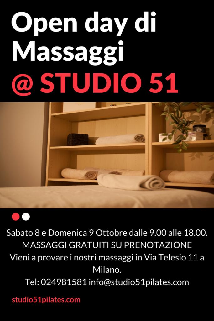 Open day massaggi Milano