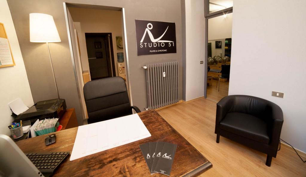 reception studio 51 pilates