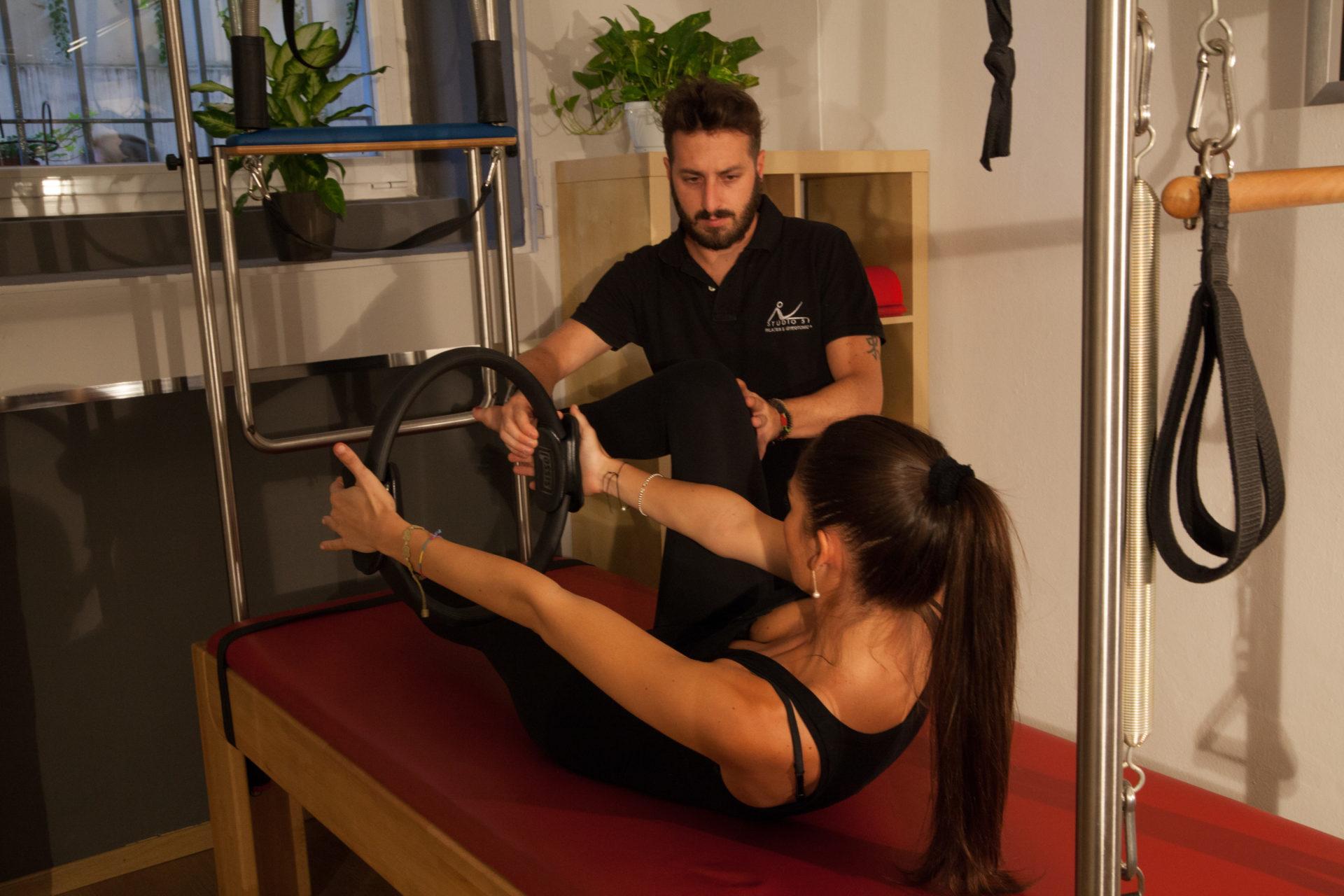 prima lezione di pilates